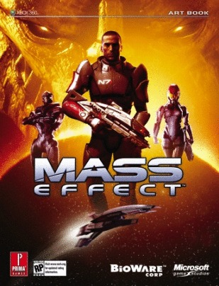 Mass Effect Limited Edition Art Book - Prima Official Game Guide