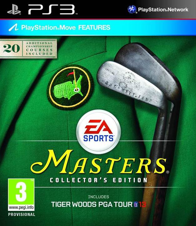 Tiger Woods PGA Tour 13 Collector's Edition for PS3