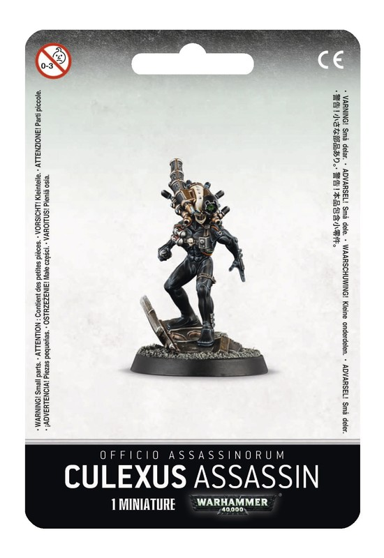 Warhammer 40,000 Officio Assassinorum: Culexus Assassin