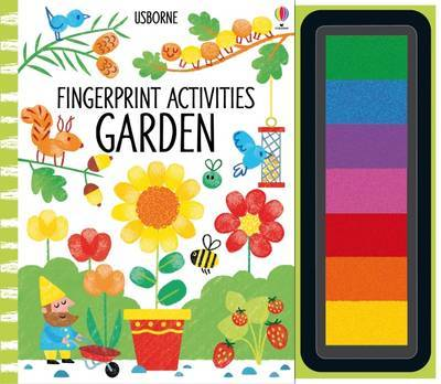 Fingerprint Activities Garden by Fiona Watt