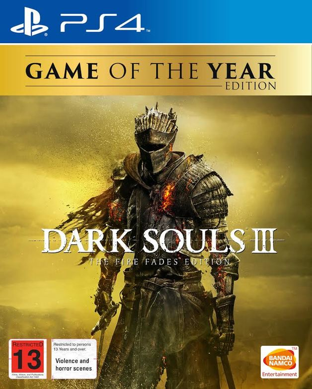 Dark Souls III: The Fire Fades Edition for PS4