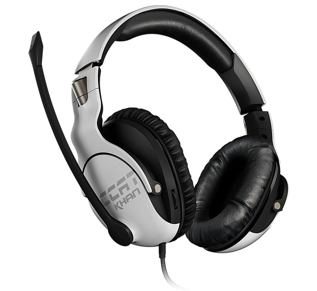 ROCCAT Khan Pro Gaming Headset - White for PC
