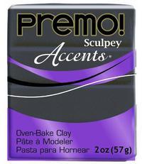 Sculpey Premo Accent Graphite Pearl (57g)