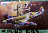 Tamiya British Supermarine Spitfire Mk.Vb 1/48 Aircraft Model Kit