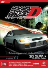 Initial D - Battle 07 - The End Of Summer on DVD