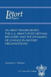 An Army Transformed by Suzanne Nielsen