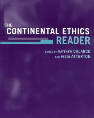 The Continental Ethics Reader image