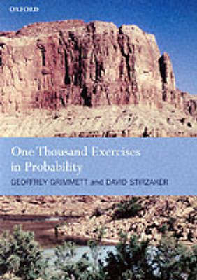One Thousand Exercises in Probability by Geoffrey Grimmett image