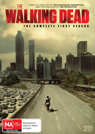 The Walking Dead - The Complete First Season on DVD image