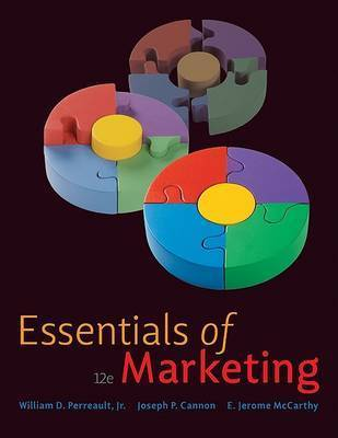 Essentials of Marketing with Connect Plus by Cannon Joseph