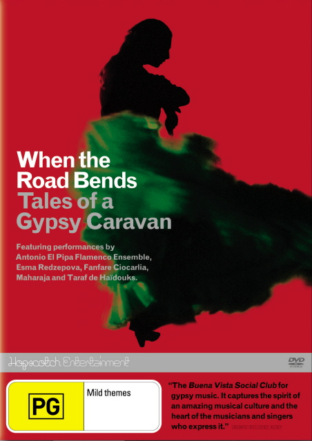 When The Road Bends - Tales Of A Gypsy Caravan on DVD image