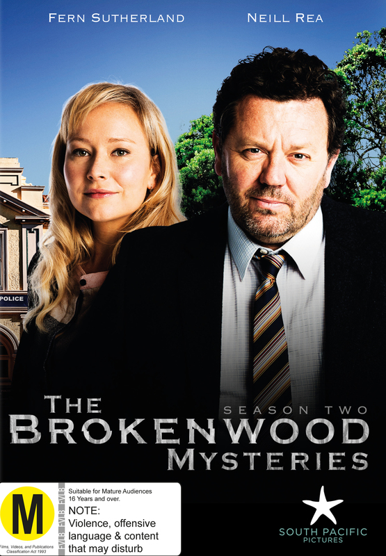 The Brokenwood Mysteries - Season Two on DVD
