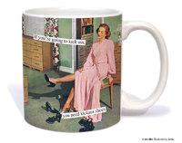 Anne Taintor: Kick Ass Shoes - Ceramic Mug