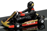 Scalextric: DPR Super Kart (Black) - Slot Car