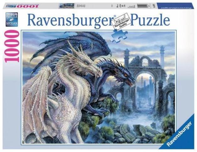 Ravensburger: Mystical Dragon - 1000pc Puzzle
