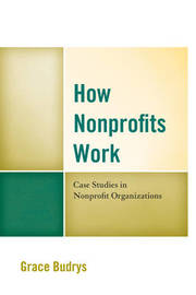 How Nonprofits Work by Grace Budrys image