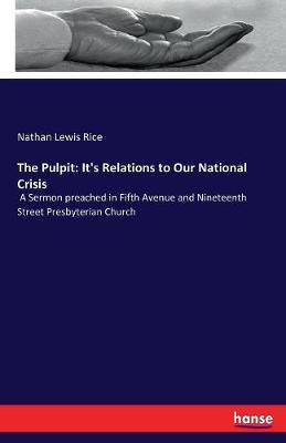 The Pulpit by Nathan Lewis Rice image