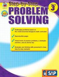 Step-By-Step Problem Solving, Grade 3
