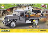 Cobi: World War 2 - Opel Blitz 3t (4x2) with 2 cm Flak 38