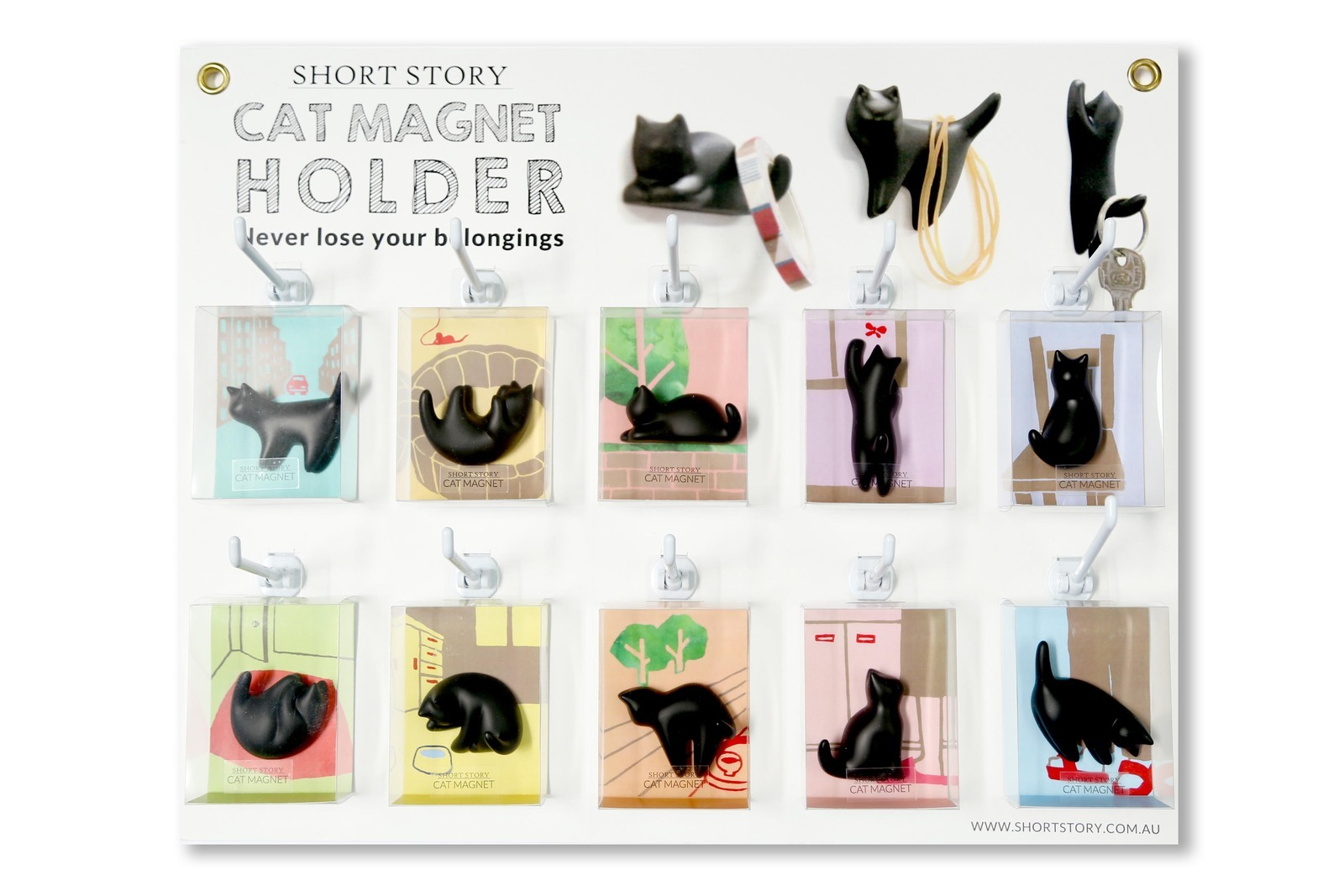 Short Story: Cat Magnet - Snuggly image