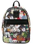 Loungefly: Nightmare Before Christmas - Chibi-Print Mini Backpack