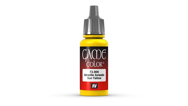 Vallejo Game Colour Sunblast Yellow 17ml