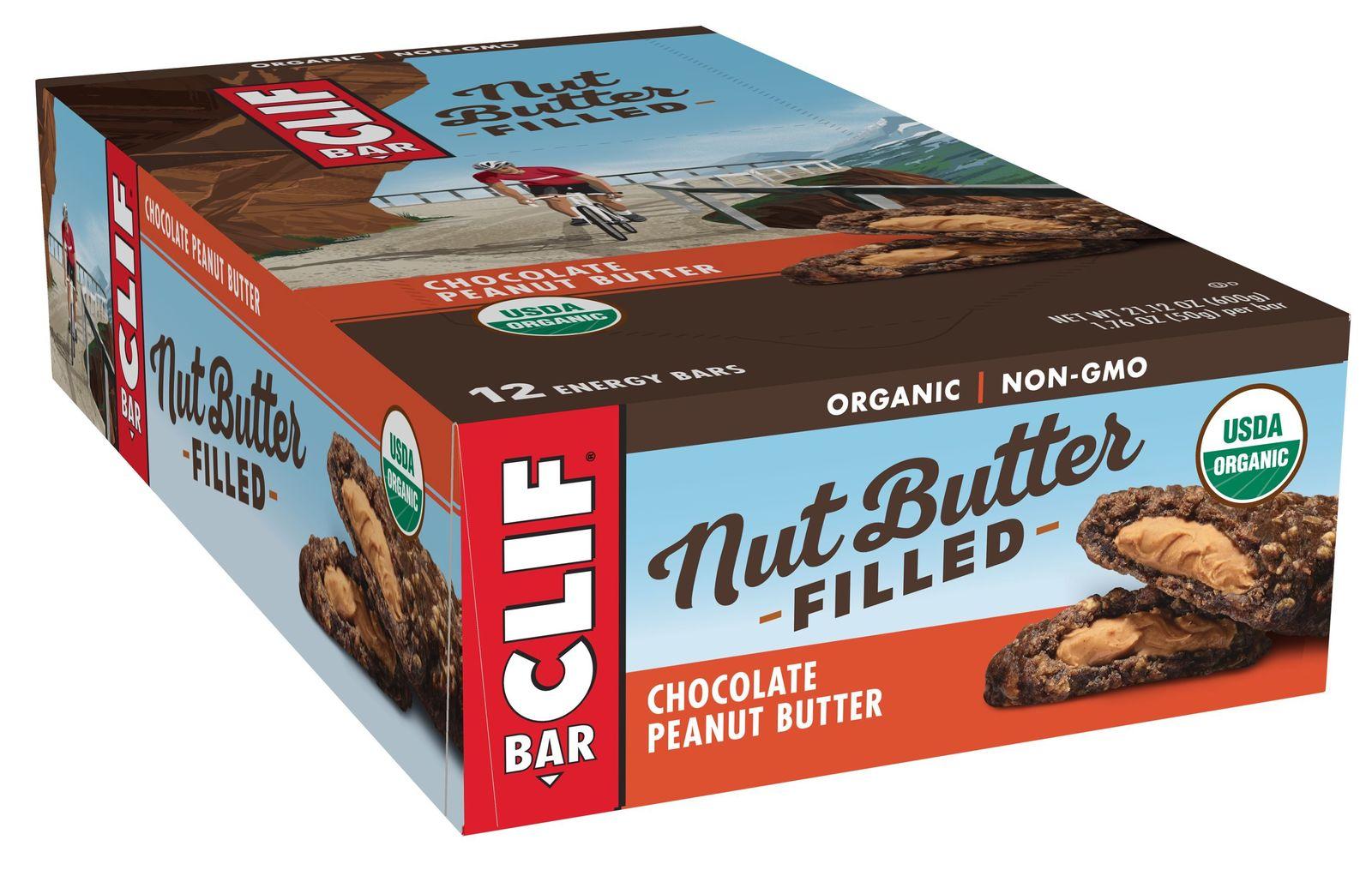 Clif Bar Nut Butter Filled - Chocolate Peanut Butter (12x50g) image