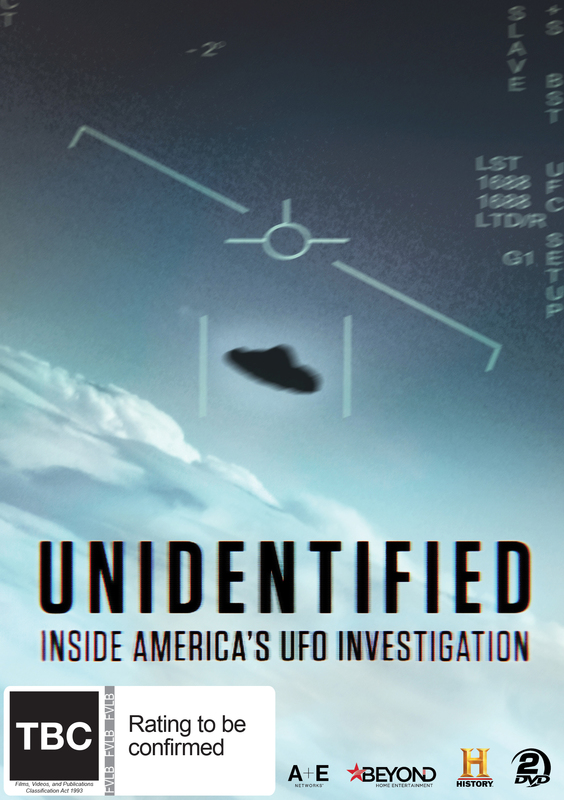 Unidentified: Inside America's UFO Investigation on DVD