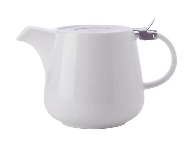 Maxwell & Williams: White Basics Teapot with Infuser (1.2L)