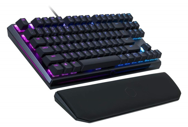Cooler Master MK730 RGB TKL Mechanical Gaming Keyboard (Cherry MX Blue) for PC