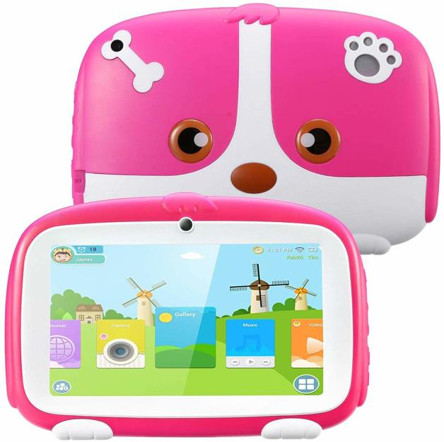 "Ape Basics: 1+16G 7"" Tablet For Kids (2020 upgraded) - Pink"