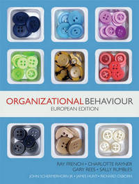Organizational Behaviour by Ray French image