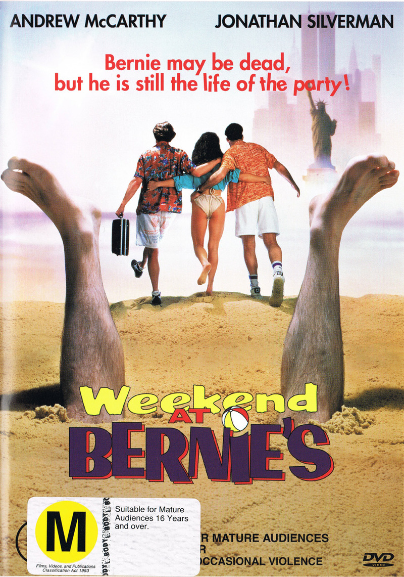 Weekend At Bernie's on DVD image