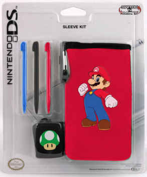 Mario Style & Sleeve Kit for Nintendo DS