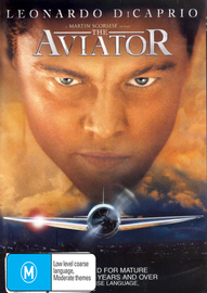 The Aviator  (Single Disc) on DVD image
