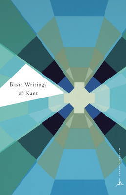 Basic Writings of Kant by Immanuel Kant image