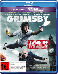 Grimsby on Blu-ray, UV