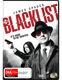 The Blacklist Season 3 on DVD image