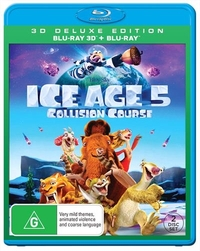 Ice Age 5: Collision Course - 3D Deluxe Edition on Blu-ray, 3D Blu-ray, UV