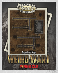 Savage Worlds: Weird War I - Bridge/Trenches Combat Map