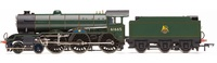 Hornby: Early BR 4-6-0 'Leicester City' '61665', B17 Class