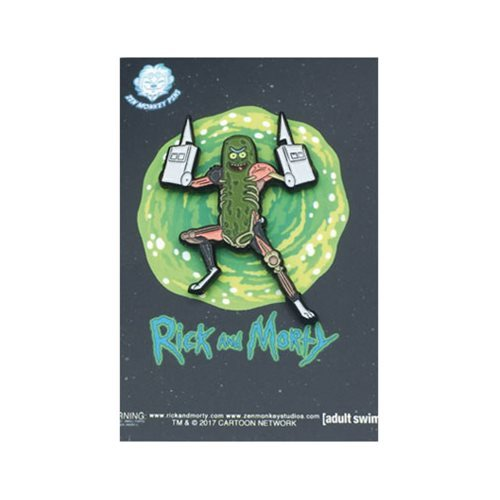 Rick and Morty: Pickle Rick - Lapel Pin
