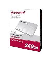 """Transcend: SSD220S 240GB SATA III 2.5"""" SSD"""