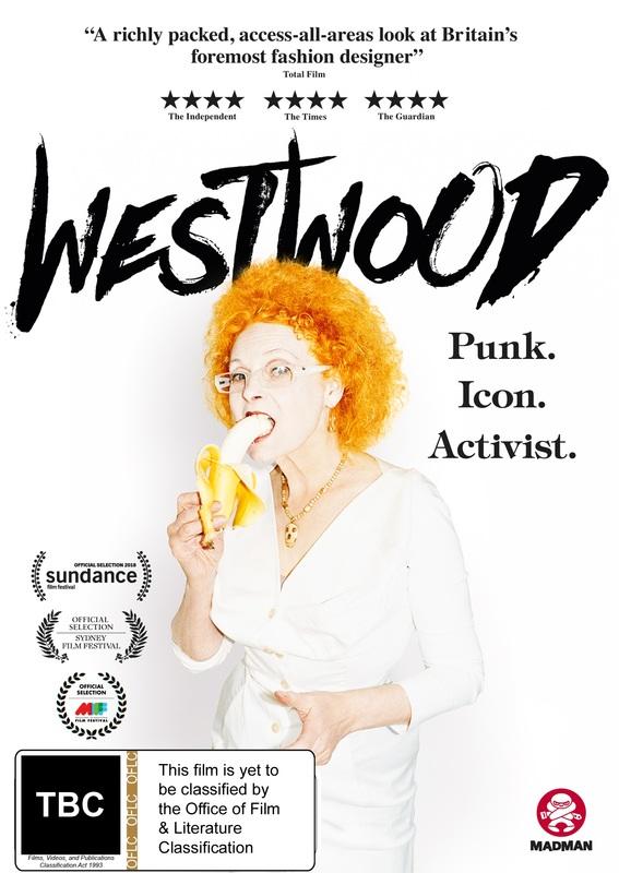Westwood: Punk, Icon, Activist on DVD