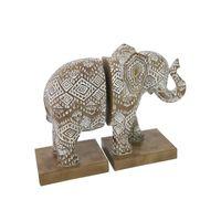 Splosh Havana Elephant Bookend Set