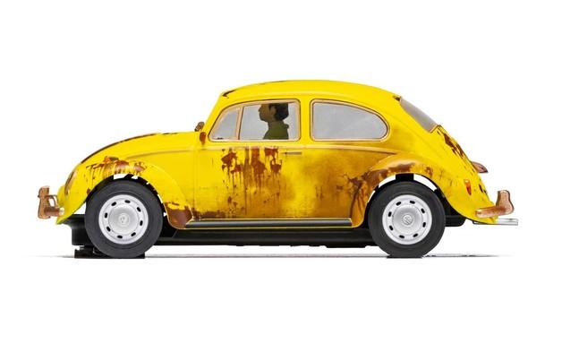 Scalextric: Volkswagen Beetle Rusty Yellow - Slot Car