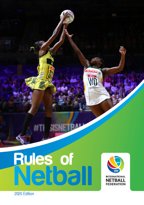 INF International Rules of Netball 2020 Edition image