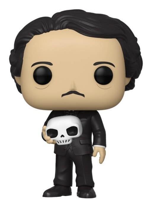 Icons: Edgar Allen Poe (with Skull) - Pop! Vinyl Figure