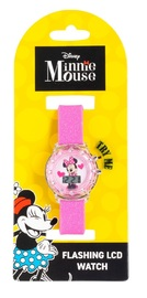 Minnie Mouse Light Up LCD Watch