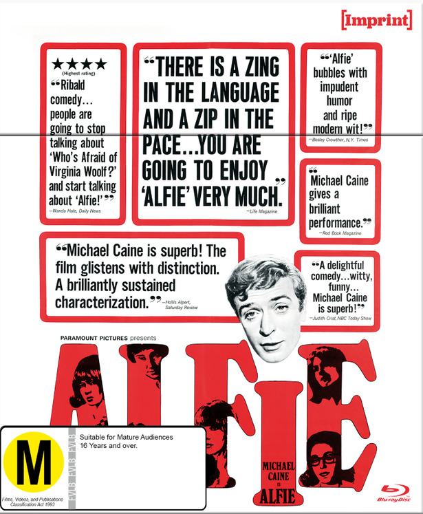 Alfie (Imprint Collection #41) on Blu-ray